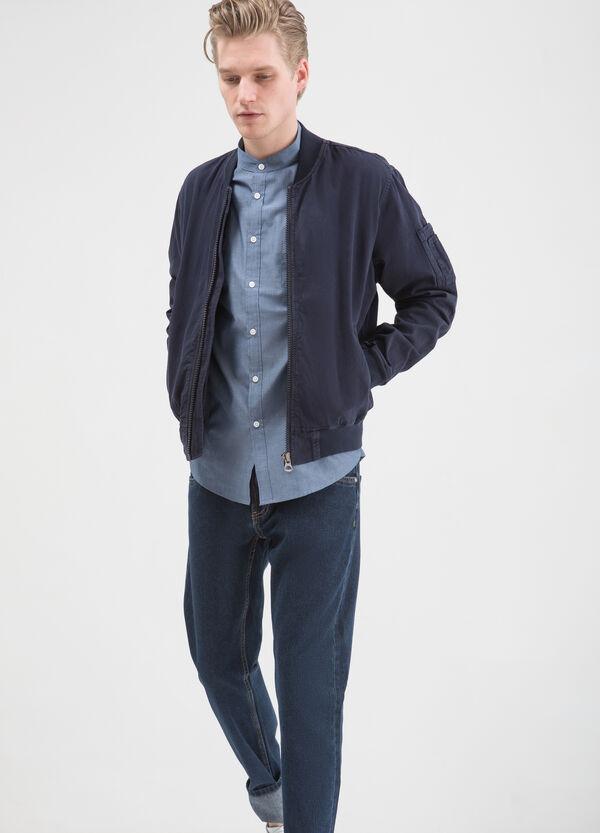 Camicia cotone colletto coreana | OVS