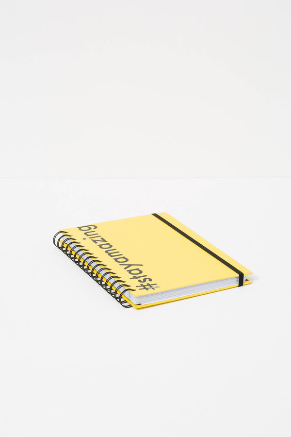 Printed spiral ring notebook with lined pages | OVS