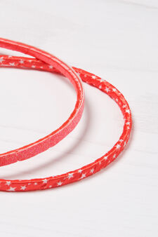 Two-pack hair bands, Light Pink, hi-res