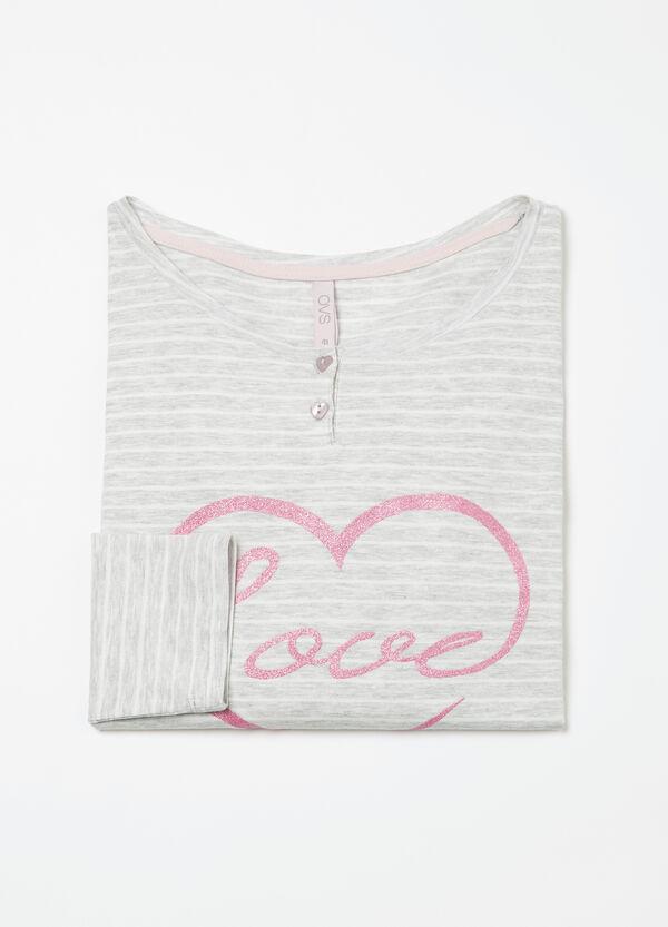Maglia pigiama cotone stretch Curvy   OVS