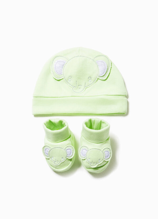 Hat and shoes set with patch | OVS