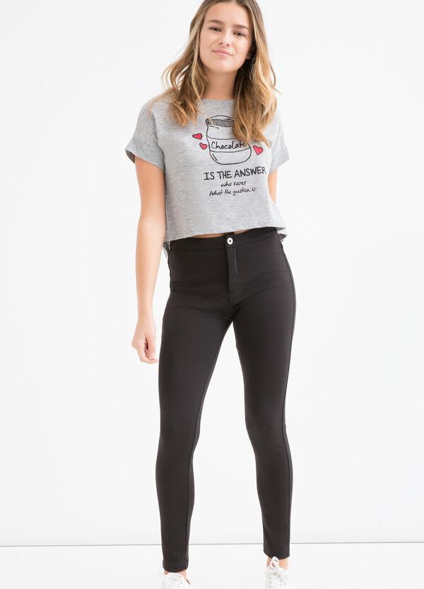 Teen printed cotton T-shirt | OVS