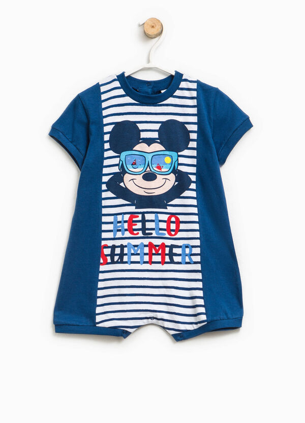 Mickey Mouse striped sleepsuit | OVS