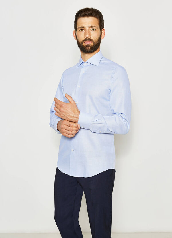 Slim-fit formal patterned shirt | OVS