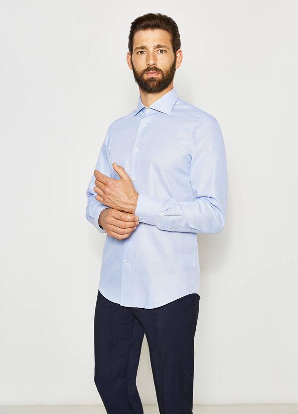 Camisa formal slim fit con fantasía | OVS