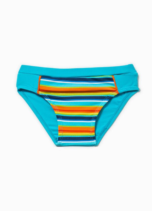 Striped and animal print swim briefs | OVS