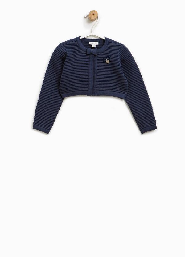 Coprispalle tricot a righe | OVS