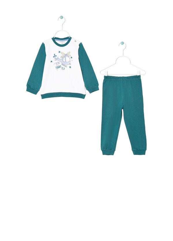 100% cotton printed pyjamas. | OVS