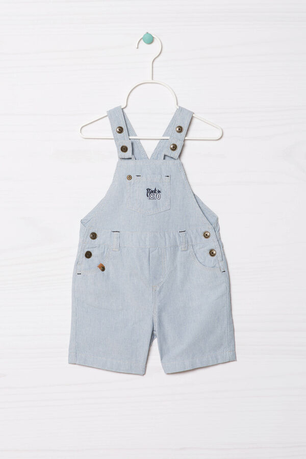 Striped Bermuda dungarees | OVS