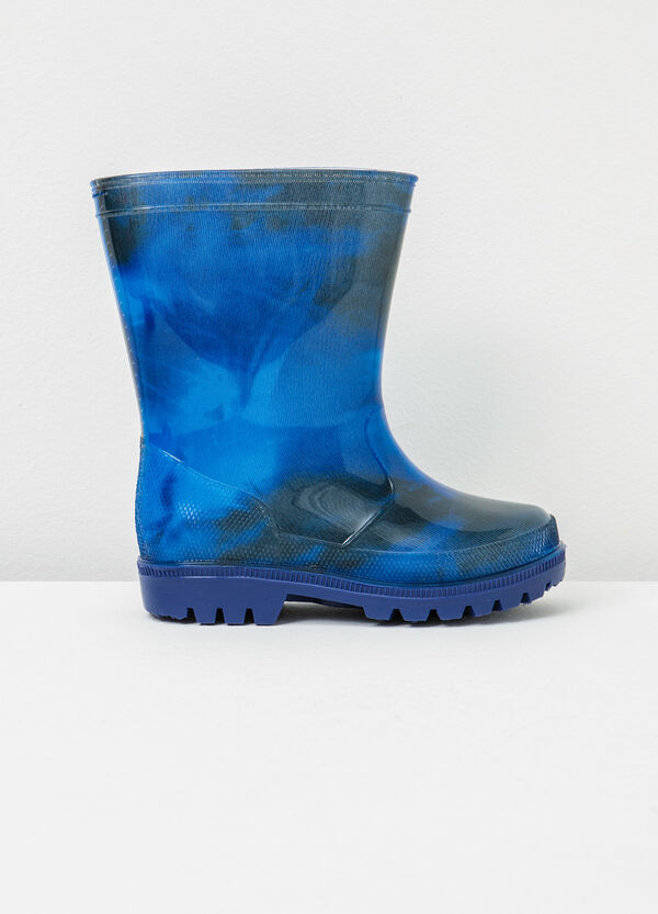 Patterned Wellington boots | OVS