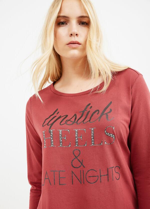 T-shirt scollo rotondo Curvy | OVS