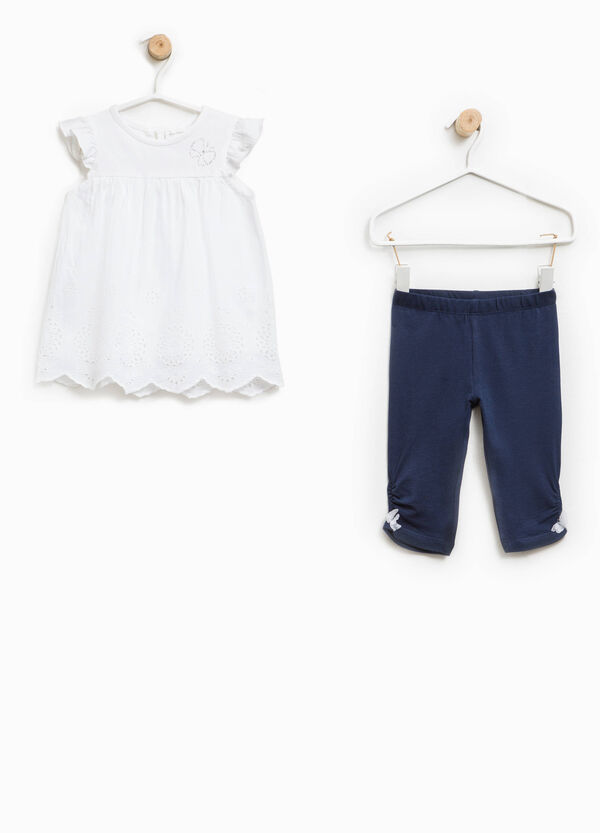 Completo vestitino e leggings farfalla | OVS