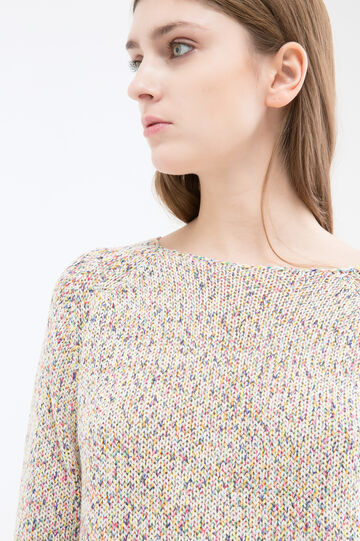 Pullover in puro cotone, Multicolor, hi-res