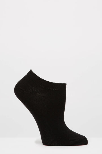 Three-pair pack animal print socks, Black/Grey, hi-res