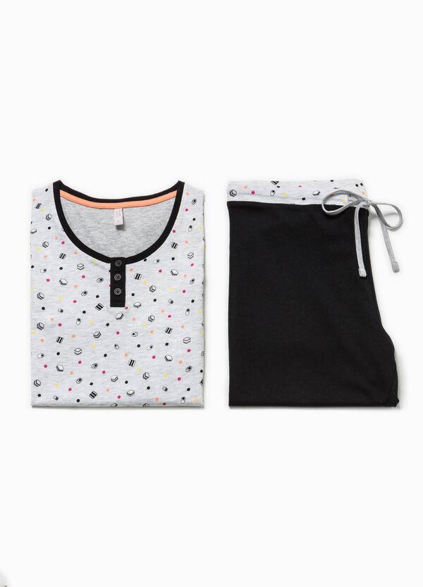 Patterned cotton pyjamas | OVS