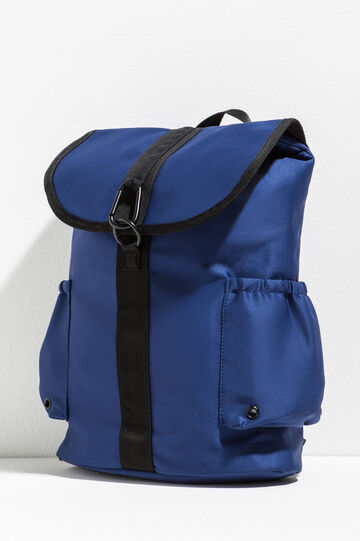 Backpack with inserts in contrasting colour
