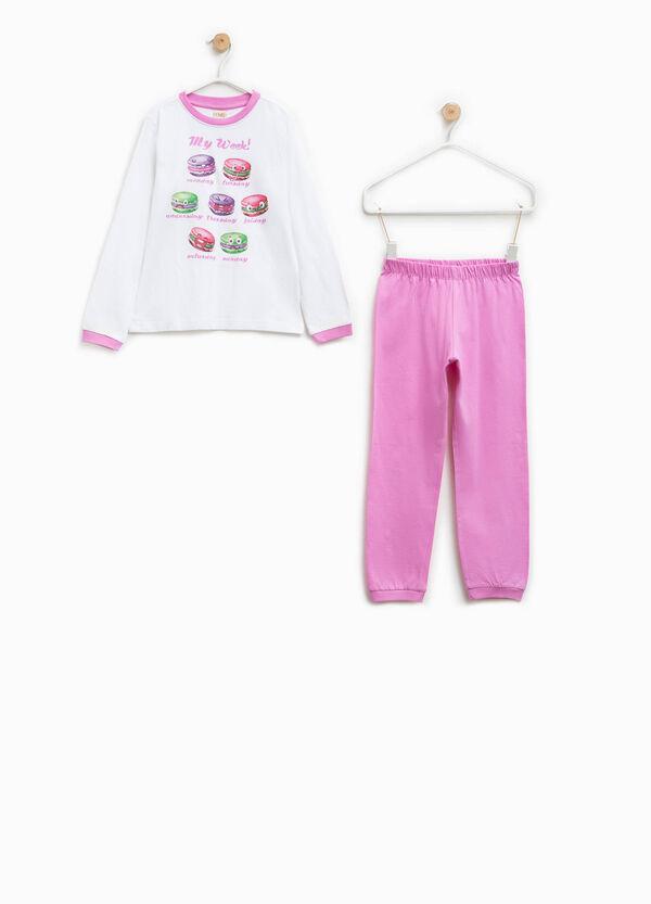 Pijama 100% Biocotton con cuello redondo | OVS