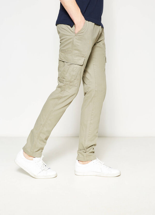 Slim-fit cargo trousers | OVS