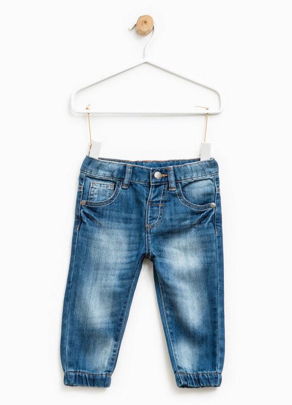 Jeans used con baffature e scoloriture | OVS