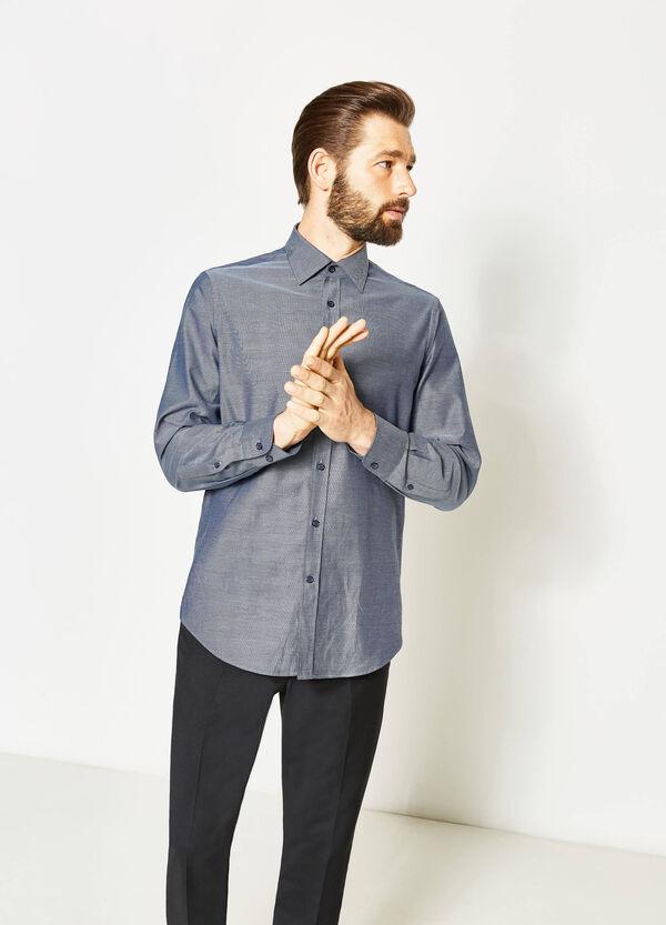Camisa formal regular fit con microestampado | OVS