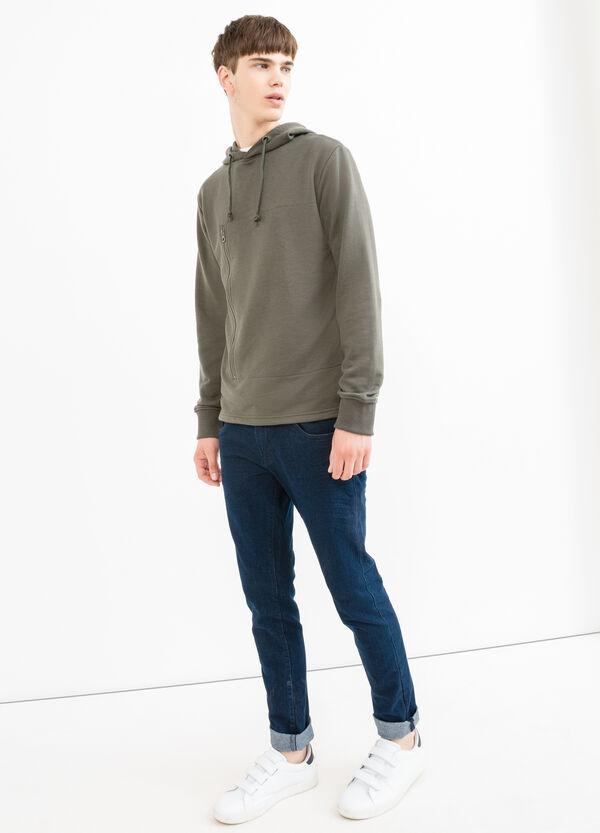 Cotton blend hoodie. | OVS