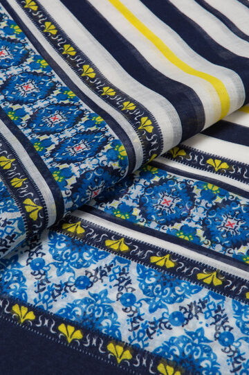 Lightweight patterned scarf, Multicolour, hi-res