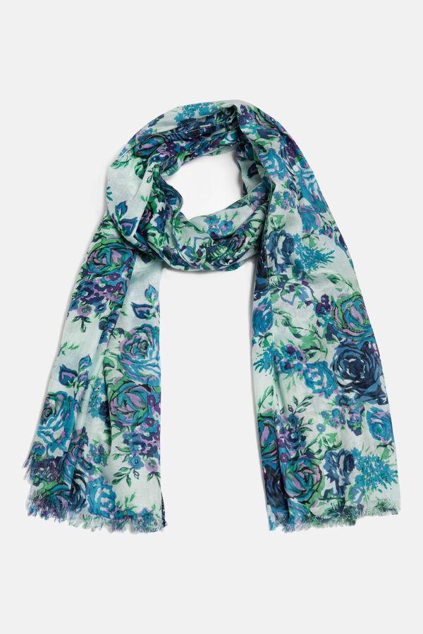 Sciarpa pura viscosa floreale | OVS
