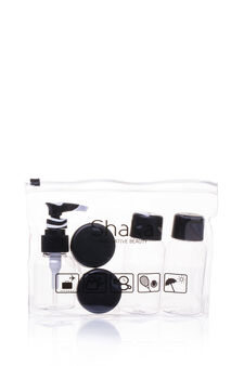 5-piece travel kit, Transparent, hi-res