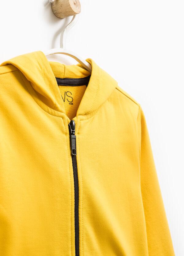 Sudadera en algodón 100% con capucha. | OVS