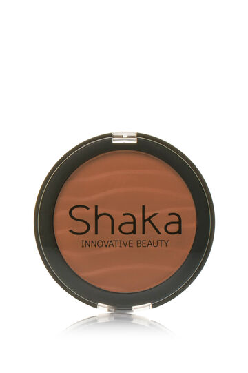 Compact powder with natural finish, Brown, hi-res