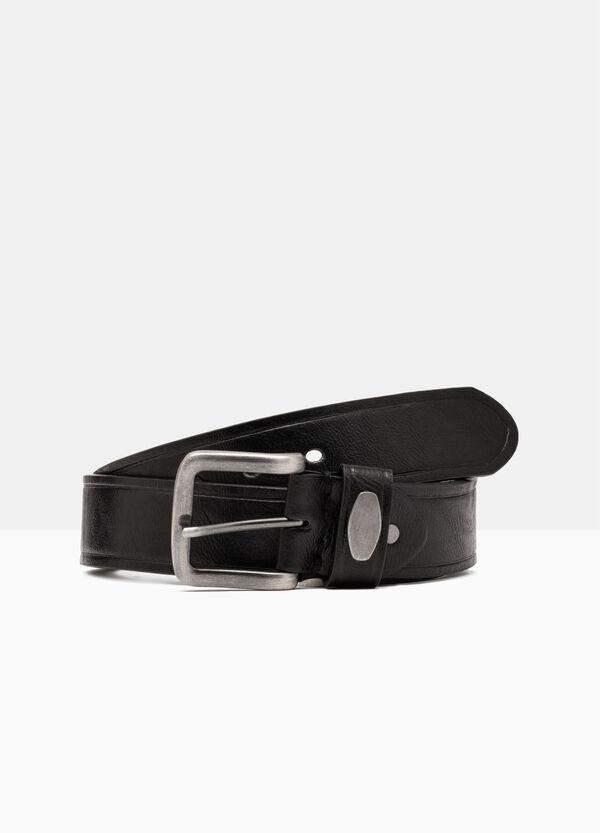 Skinny belt in faux leather. | OVS