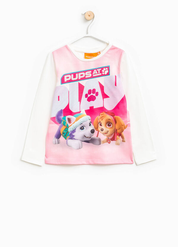 T-shirt in cotone con stampa Paw Patrol | OVS