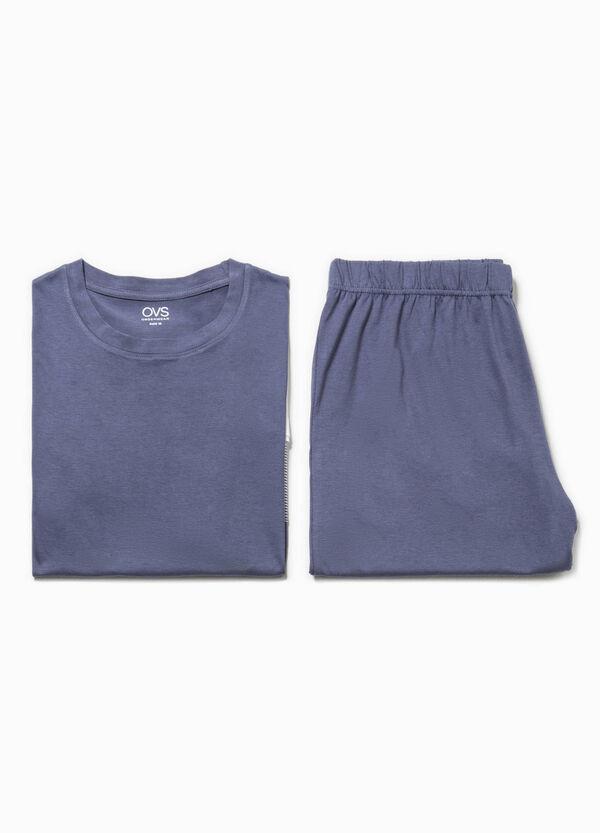 Pijama de camiseta y pantalón corto de rayas | OVS