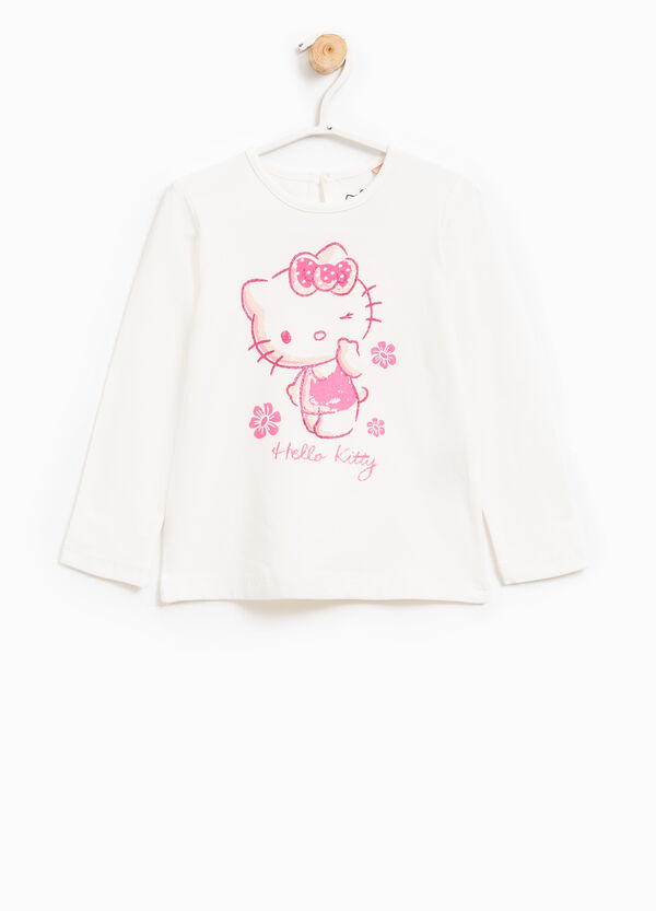 T-shirt cotone stretch Hello Kitty | OVS