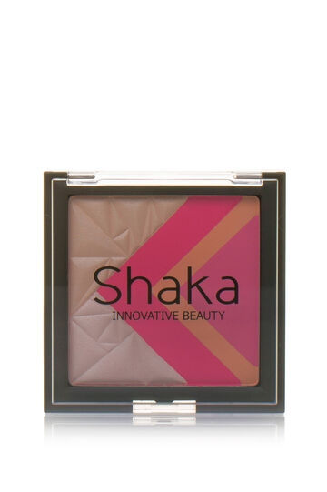 Blush palette in five shades, Fuchsia, hi-res