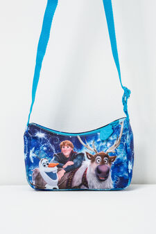 Frozen print cross body bag, Soft Blue, hi-res