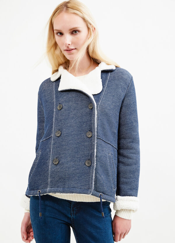 Solid colour jacket with lapels | OVS