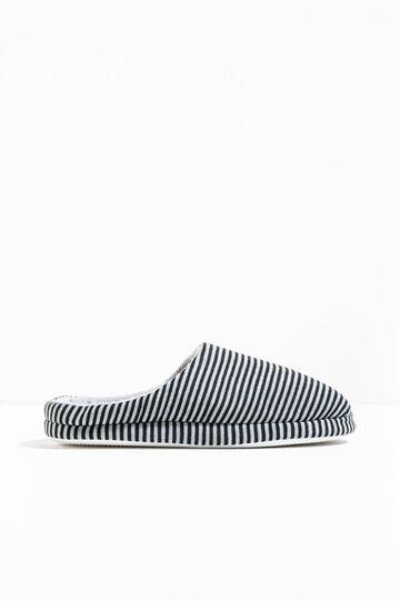 Zapatillas de casa de rayas