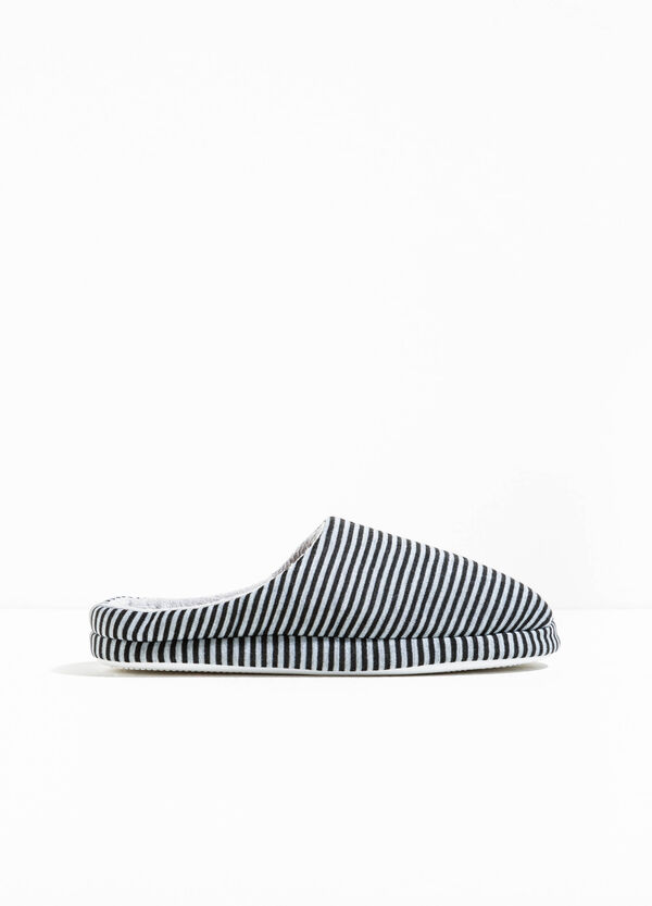 Slippers with striped pattern | OVS