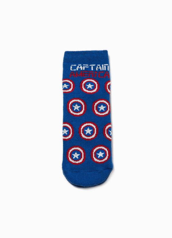 Calze antiscivolo cotone Captain America | OVS