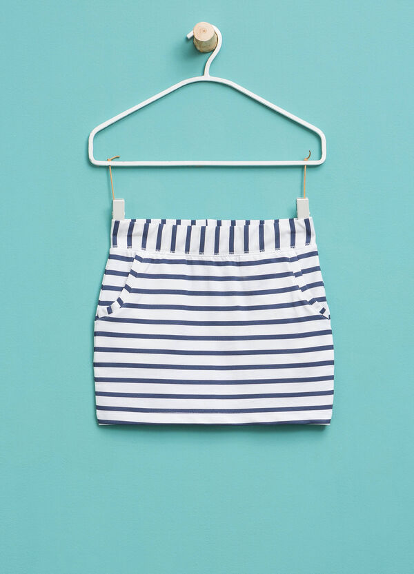 Cotton skirt with pockets | OVS