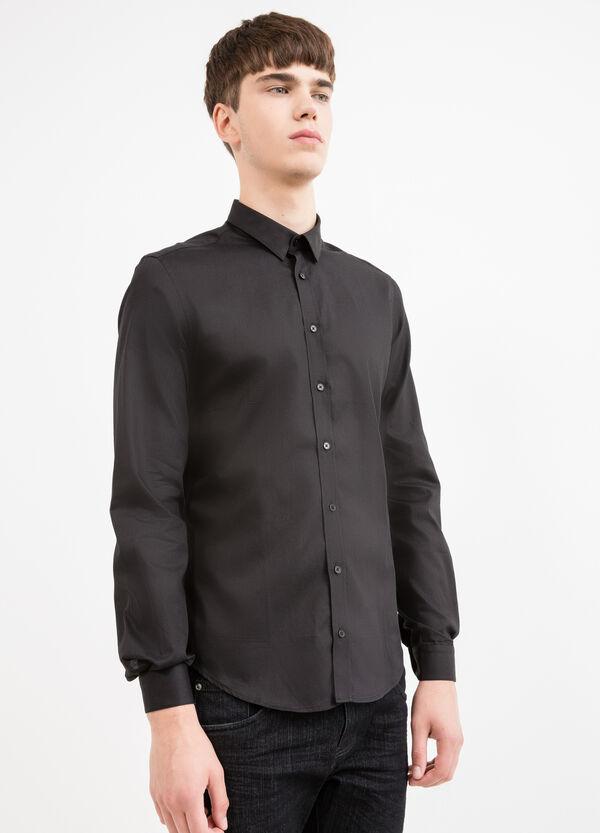 Camicia formale custom fit puro cotone   OVS