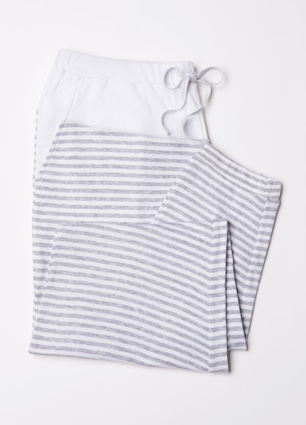 Stretch cotton pyjama trousers | OVS