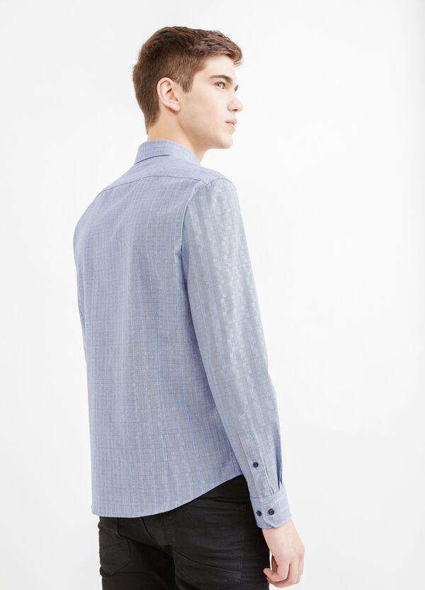 Camicia casual misto cotone fantasia | OVS