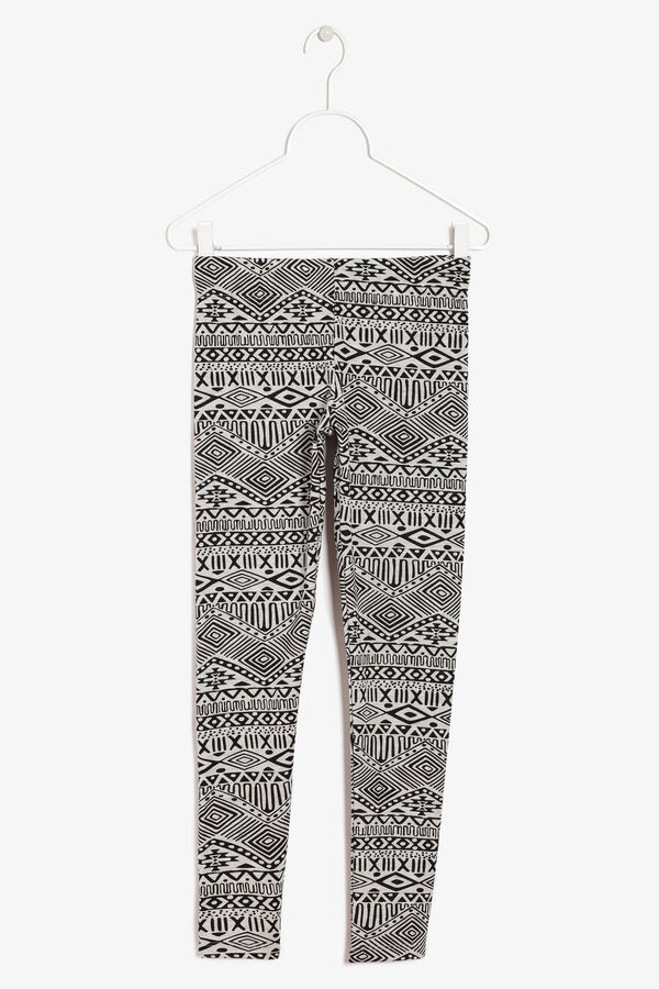 Leggings with a print | OVS