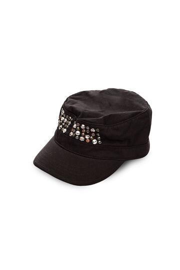 Cappello con applicazioni, Black, hi-res