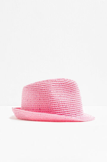 Wide-brimmed hat with sequins