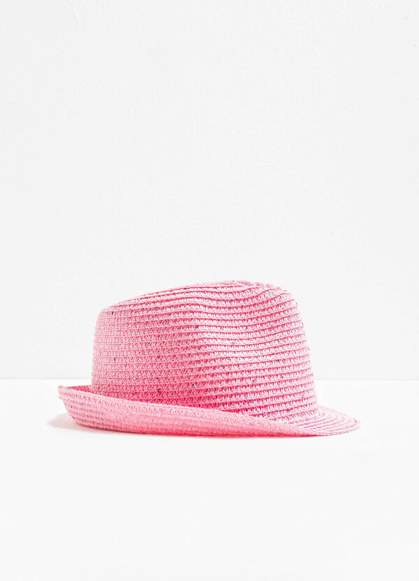 Wide-brimmed hat with sequins | OVS