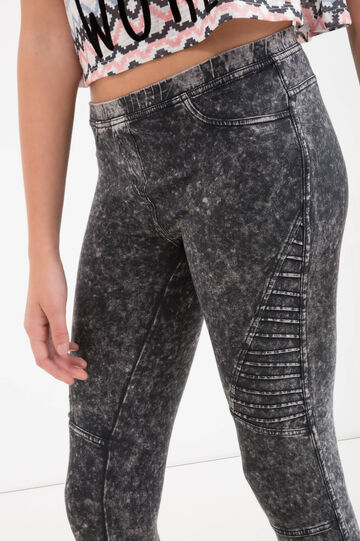 Jeggings maltinti cotone Teen