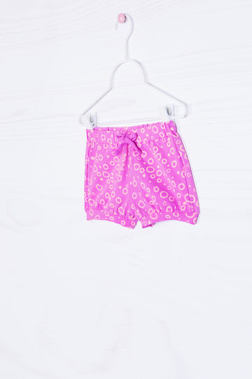Shorts cotone stretch fantasia